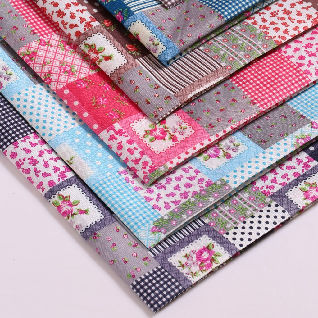 50 147cm Patchwork100 Percent Fabric For Tissue Kids