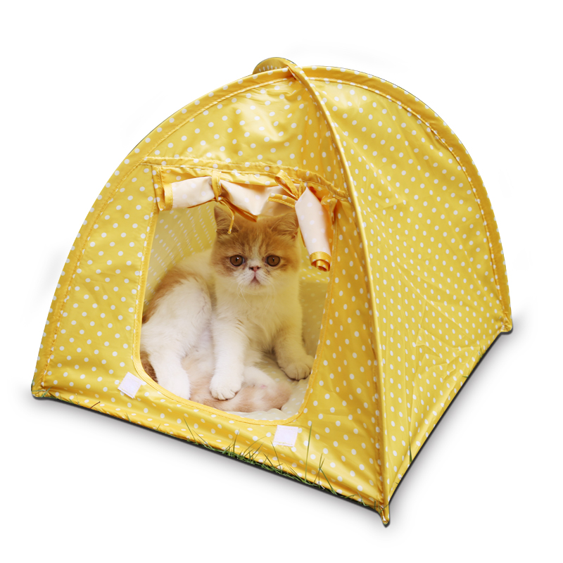 Foldable Pet Cat Kitty Tent Indoor Bed Tent for Cats Water Resistant Portable Pet Tent Tienda de mascotas gato -in Cat Beds u0026 Mats from Home u0026 Garden on ...  sc 1 st  AliExpress.com & Foldable Pet Cat Kitty Tent Indoor Bed Tent for Cats Water ...