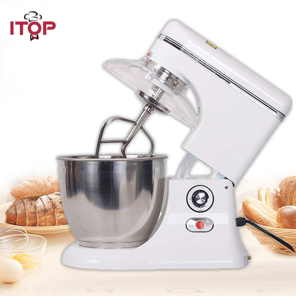ITOP 7.5L Raisable head electric large industrial food mixer dough mixer egg beater