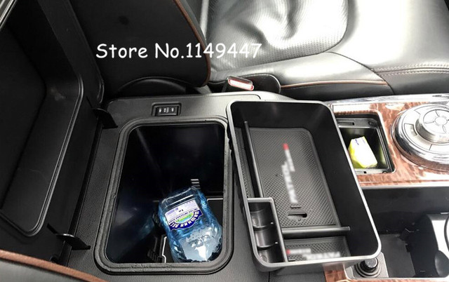 2018 nissan y62. wonderful nissan for nissan patrol y62 6th 2010  2018 black plastic car styling interior  inner front storage intended nissan y62 s