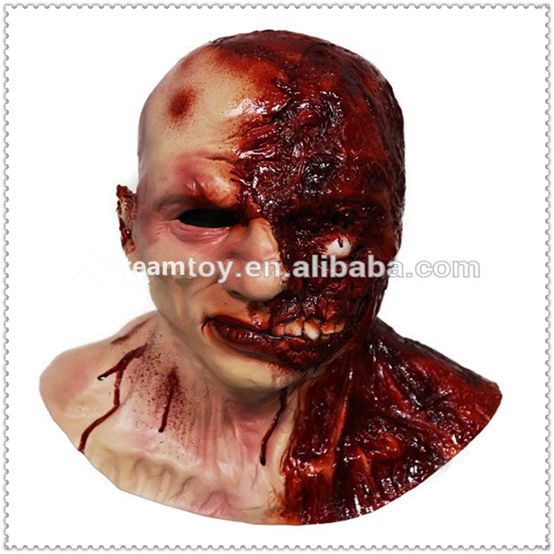Top Grade Halloween Party Coplay Deluxe Halloween Costums Horror Zombie Masks Latex Monster Bloody Ghost Mask for Adult Dress UpTop Grade Halloween Party Coplay Deluxe Halloween Costums Horror Zombie Masks Latex Monster Bloody Ghost Mask for Adult Dress Up