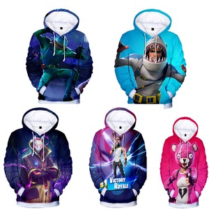 Image 1 - Free shipping woman and mans battle royale 3D printed Casual Long Sleeve Hoodies sweatshirts Streetwear Male Pullover hoody