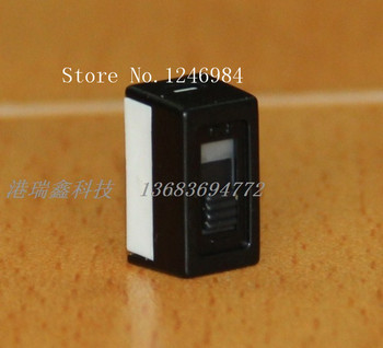 [SA]H251 single toggle switch two tranches tripod 2.54 Taiwan Deli Wei Ping dial slide switch push switch 6M--50pcs/lot