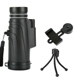 Image 5 - 50x52 줌 단안 망원경 범위 스마트 폰 카메라 캠핑 하이킹 낚시 나침반 전화 클립 삼각대 선물