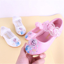 New Summer Ttj Kids Shoes 2019 Leathers Sweet Snow White Girl In Princess Mini Melissa Lace Dancing Baby Water