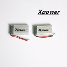 3.7v 1200Mah Xpower Li-polymer lipo battery for Syma X5SW X5SC M18 H5P drone RC Quadcopter 2pcs