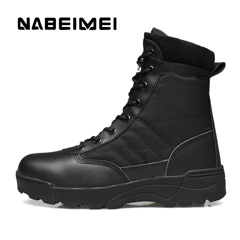 Brillante Stivali Da Uomo Desert Boots Scarpe Da Uomo 2019 Da Indossare Alla Caviglia Stivali Stivali Tattici Scarpe Outdoor Superstar Poliestere Esercito Stivali Taglia 39 -45 Prezzo Ragionevole