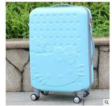 Hello Kitty Women Travel Trolley suitcase Travel Rolling Case On Wheels 20″ 24″ Inch Travel Luggage Suitcase Luggage trolley bag