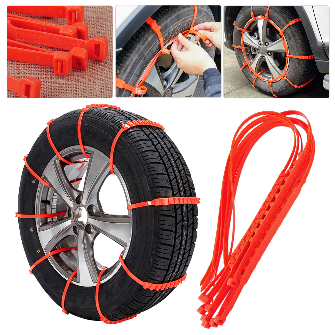 CITALL 10pcs Car Truck SUV Pick up Snow Anti skid Wheel
