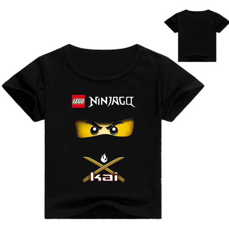 Good Summer 2019 Boys T Shirt Legoes T-shirt Baby Ninjago Boy Tshirt Short Sleeves Children Summer Clothes Toddler Boy Shirts Cool In Summer And Warm In Winter T-shirts