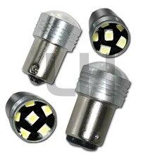 1PCS 1156 1157 6 LED Light White Reverse Parking Lamp Bulb DC12V 6 LED 2835 SMD Car Auto Light Source Backup