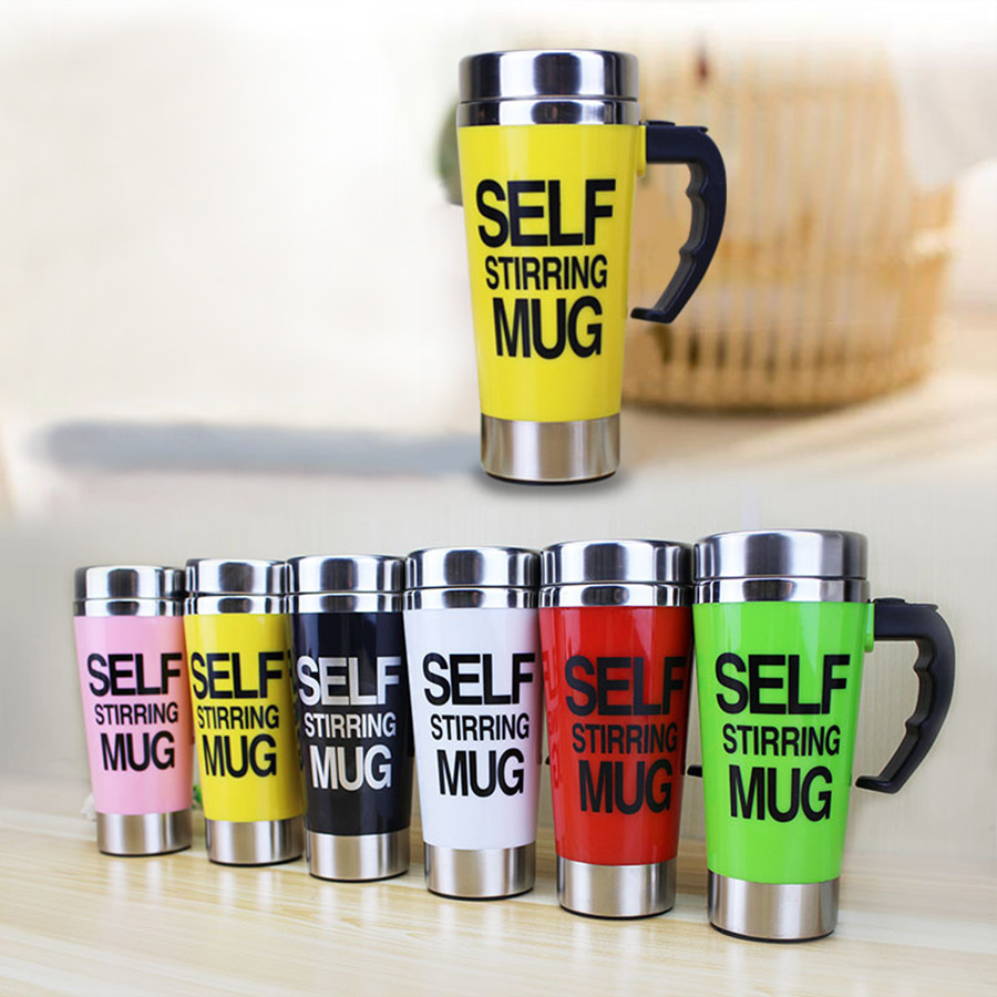 Coffee Maker Portable Pot Colors Stainless Steel Automatic Mixing Mug Self Stirring Cup Milk Coffee Machine Coffee Pot For Home automatic mixing cup camera lens stainless steel coffee tea mug travel