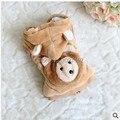 Children's clothing wholesale and retail boy wool vest bear doll 81608 cute vest children coat