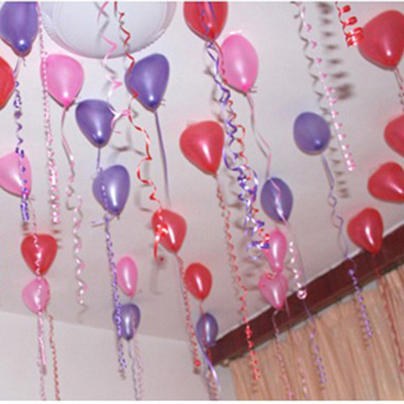 Balloon Curling Ribbon Floral Party Wedding Gift Birthday Decor Roll WS
