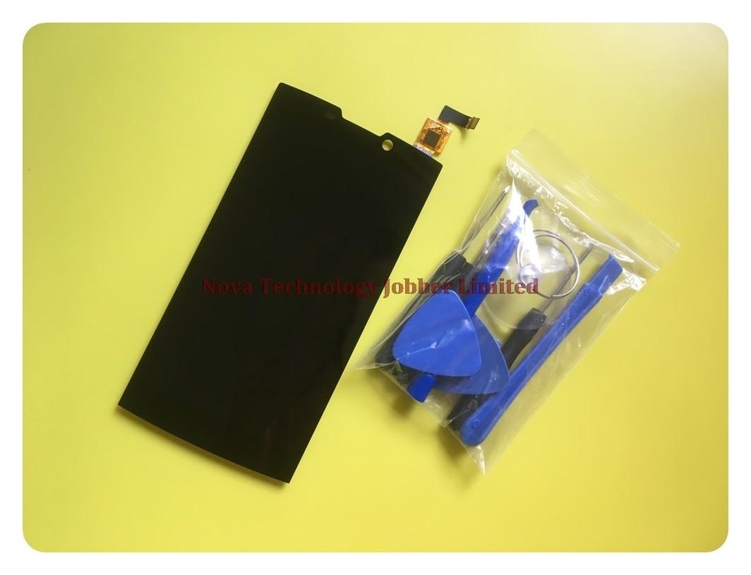 Wyieno 5 Black Sensor For Highscreen Boost 2 Boost 2 SE LCD Display Touch Screen Digitizer