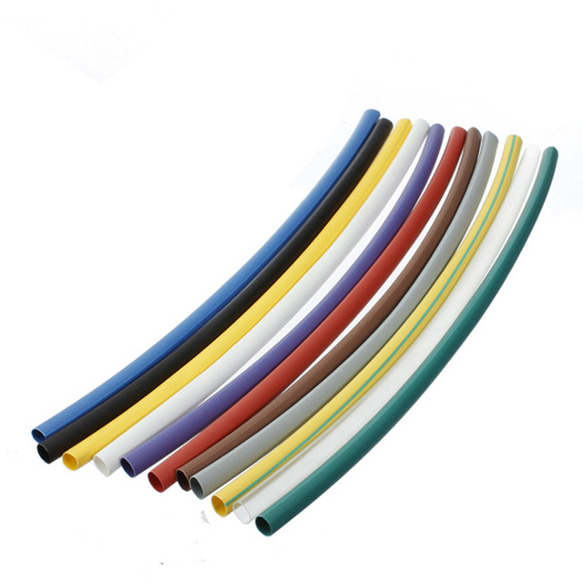 htype 55 pcs electrical cable tubing assortment 21 heat shrink tube insulated