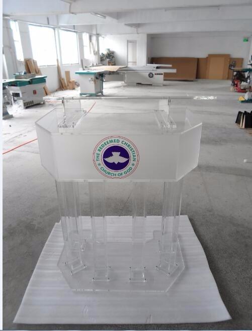 Free Shipping Wedding Ceremonies And Modern Acrylic Intelligent Podium Logo Customize