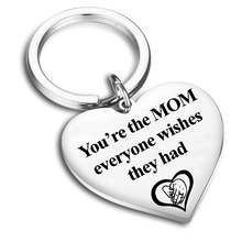 Youre The MOM Everyone Wishes They Had Engraved Key Chain for Mom Christmas Mothers Day Birthday from Son Daughter Husband Gift