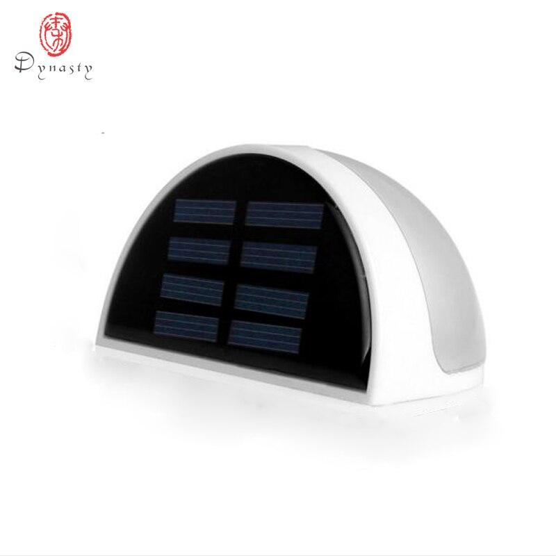 Dynastie LED solaire jardin mur lumières panneau capteur sécurité économie d'énergie lampe murale jardin balcon porche clôture cour lumières