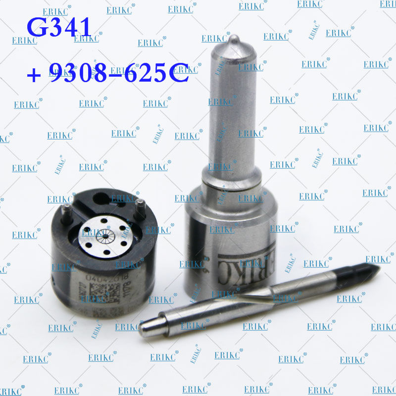 ERIKC Nozzle G341 Valve 9308 625C Diesel Injector Repair Kits Set 7135 574 for GreatWall Hover