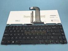 Teclado Inglés para Dell VOSTRO 3350, 3450, 3460, 3550, 3555, 3560, V131, teclado Inglés con retroiluminación, novedad