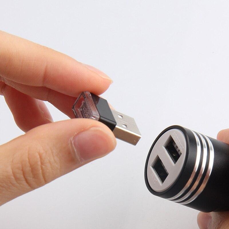 1pcs Car-Styling USB Atmosphere LED Light Car Accessories For Chevrolet Cruze Aveo Lacetti Captiva Cruze Niva Spark Orlando Sail