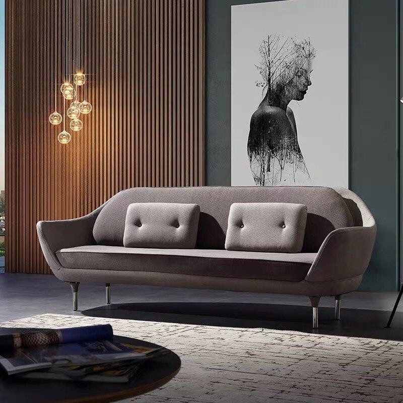 U BEST Modern Danish Fabric Design Module Sofa,Nodic Post