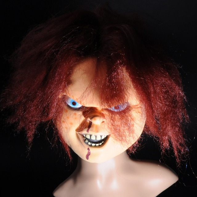 Full Face Cosplay Creepy Scary CHUCKY
