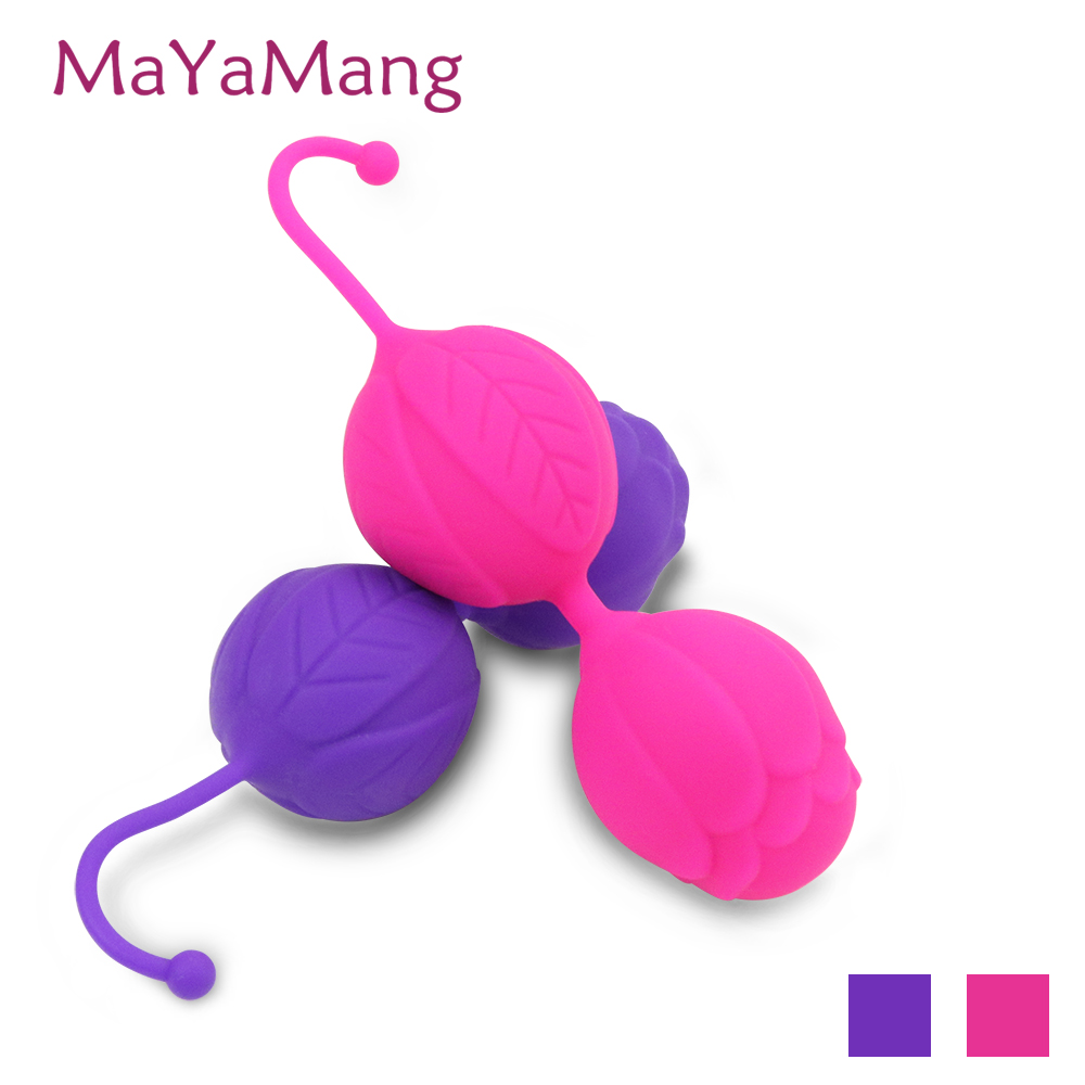 100 palline in silicone Kegel, palla Love Smart Ball Vaginale stretta-7452