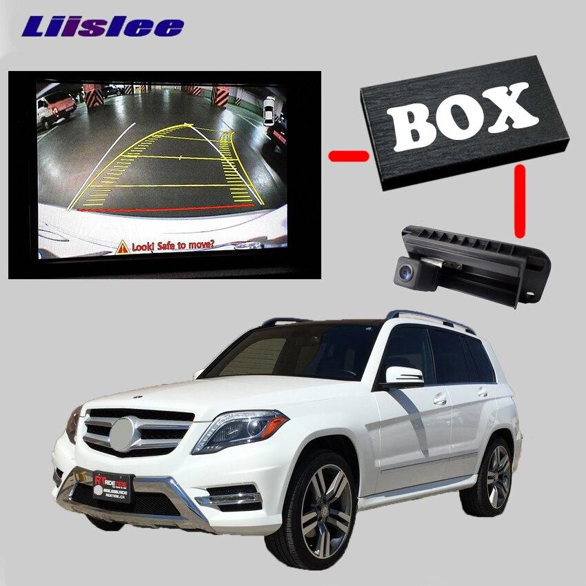 LiisLee arrière V caméra de sauvegarde Kit d'interface pour 2010-2014 Benz GLK X204 M W164 W166 E W212 V212 S212 RMC NavPlus NBT système