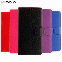 YBHNFOG Luxury PU Leather Flip Cover Wallet Cases For Coque