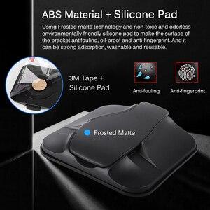 Image 3 - Telefono Supporto da Auto Per Cruscotto Forte Appiccicoso 3 M Auto Staffa di Montaggio Per 3 7 Pollici GPS iPhone Samsung non Slip Riutilizzabile Gel Pads Zerbino