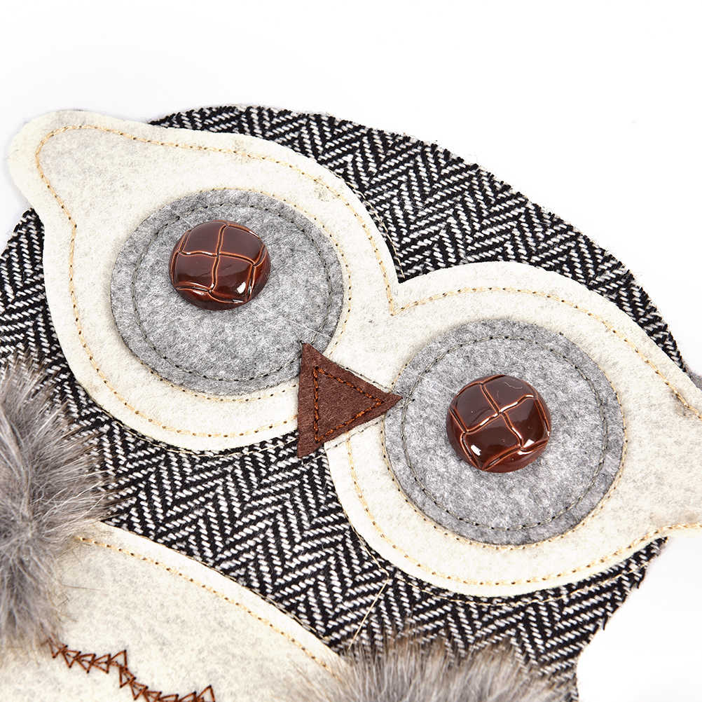 24 centimetri di Grandi Dimensioni In Tessuto gufo Applique FAI DA TE Del Ricamo di Paillettes Toppe e Stemmi per abbigliamento abbigliamento donna borsa cappello Toppe e Stemmi