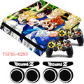 Dragon Ball Z GOKU Heros serie PS4 piel Delgada de Vinilo caso de protección decal sticker + regalos para playstation 4 slim consola