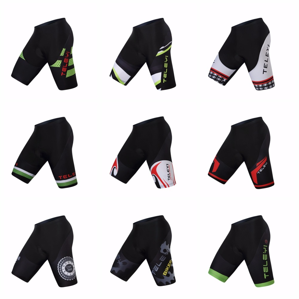 2019 Cycling shorts Men's Bike Short Padded proTeam MTB bicycle Bottom Road mountain short Breathable Sportswear for male black