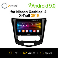 Ownice K1 K2 K3 Android 9.0 Octa Core 2 din auto car radio DVD Player for Nissan Nissan Qashiqai X Trail 2016 automagnitol