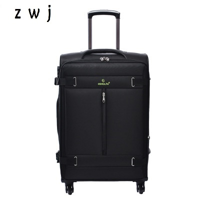 32 inch large size oxford rolling luggage spinner trolley business travel suitcases bag on wheel32 inch large size oxford rolling luggage spinner trolley business travel suitcases bag on wheel