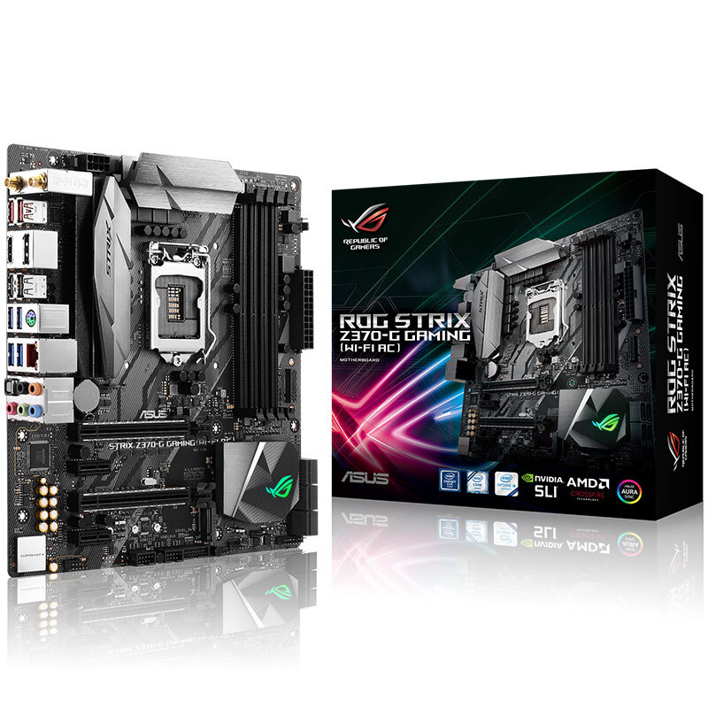 ASUS ROG STRIX Z370-G GAMING (Wi-Fi AC) Motherboard WIFI onboard