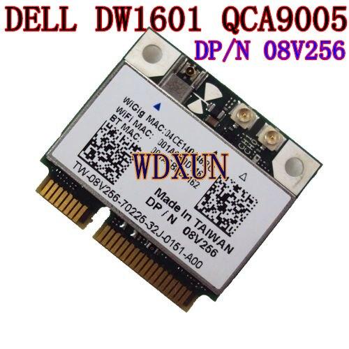 Wireless DW1601 QCA9005 8V256 WiGig 802 11AD 7Gbps Half Mini Wireless Card for Dell Latitude 6430u