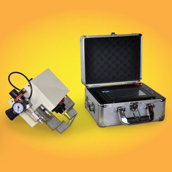 Kinijos karšto pardavimo CNC nešiojamasis plieninis žymėjimo - Medienos apdirbimo įranga - Nuotrauka 2