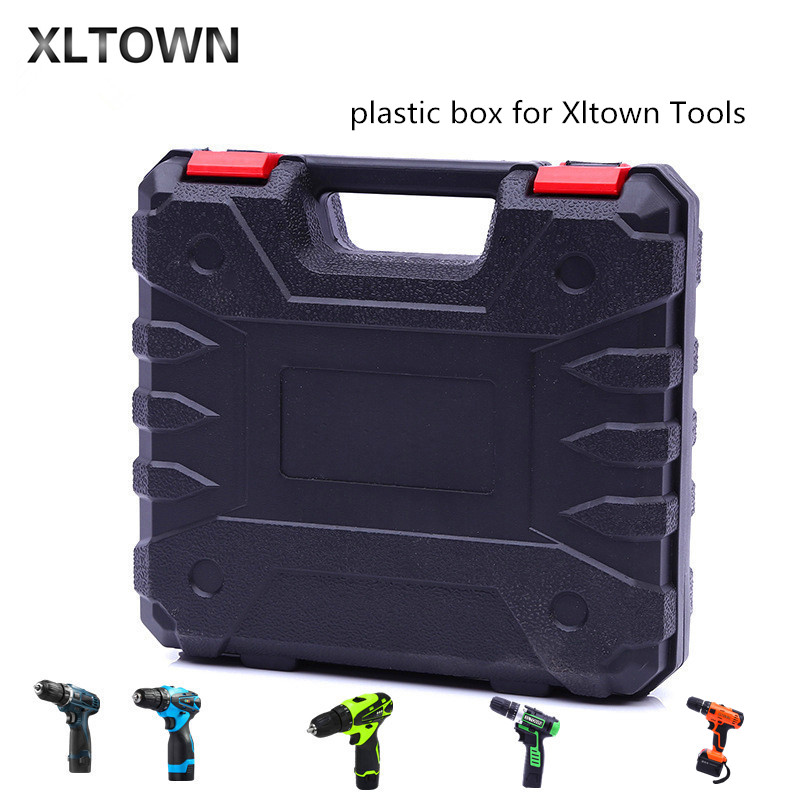Xltown high-quality power tools storage box power tools accessories electric screwdriver plastic box screwdriver accessories high tech and fashion electric product shell plastic mold