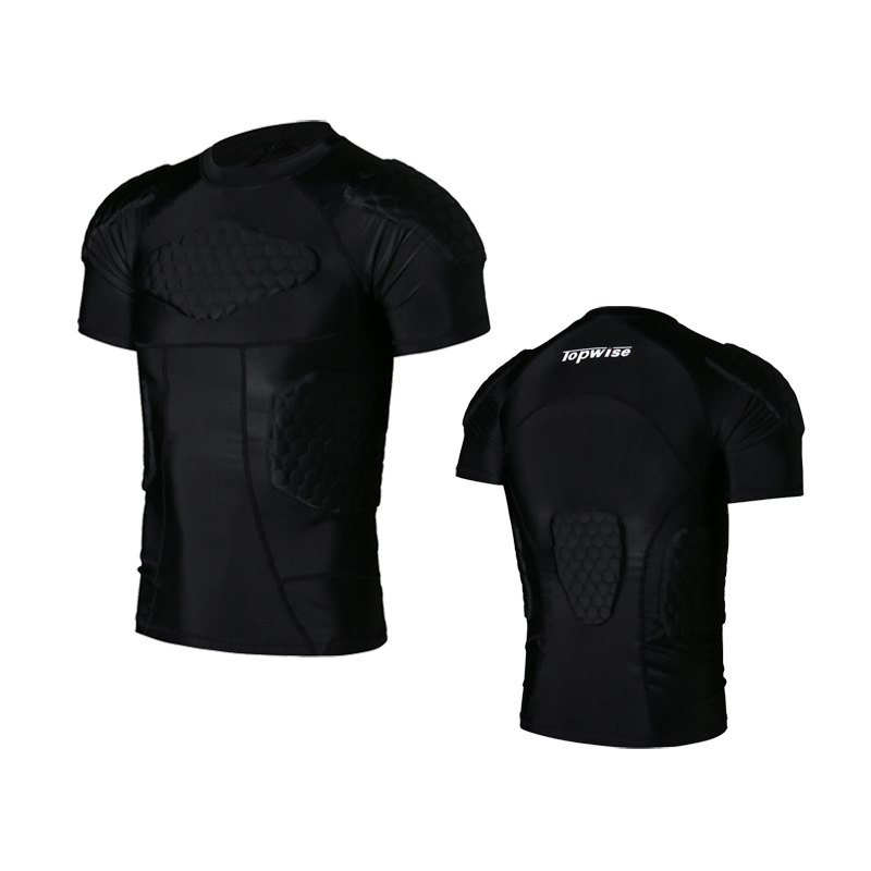 Men Runing Clothes Rugby Jersey Crushproof Clothes O-Neck Short Sleeve Sports Jerseys Anti-Hurt Clothing Equipment Running Sets