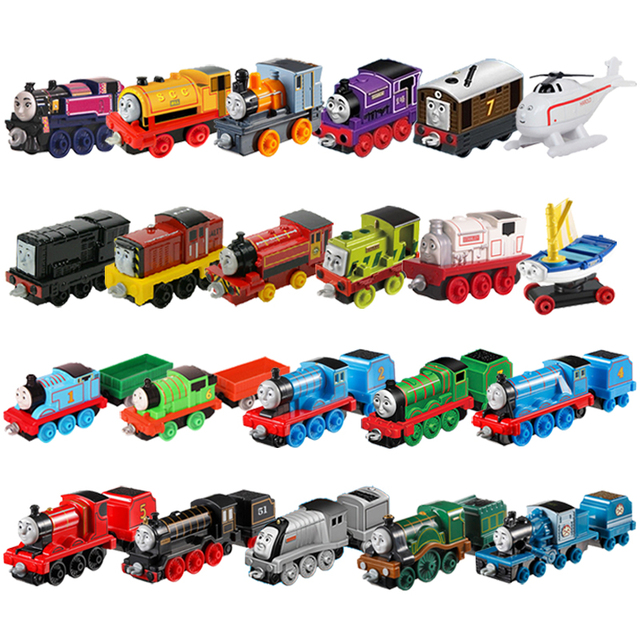 James Engine Trains Railway Accessories Classic Toys For Children Diecast Brinquedos Education Birthday Gift