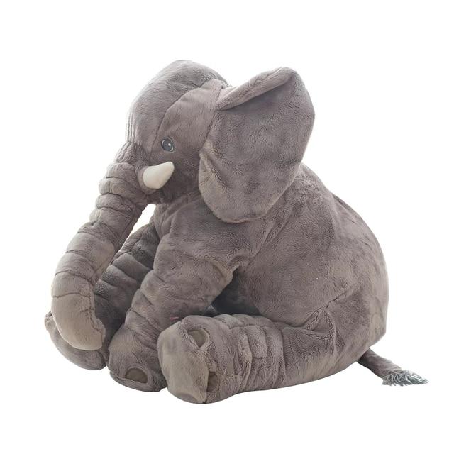 1pc 60cm Fashion Baby Animal Plush Elephant Doll Stuffed Elephant Plush Pillow Kids Toy Children Room Bed Decoration Toys