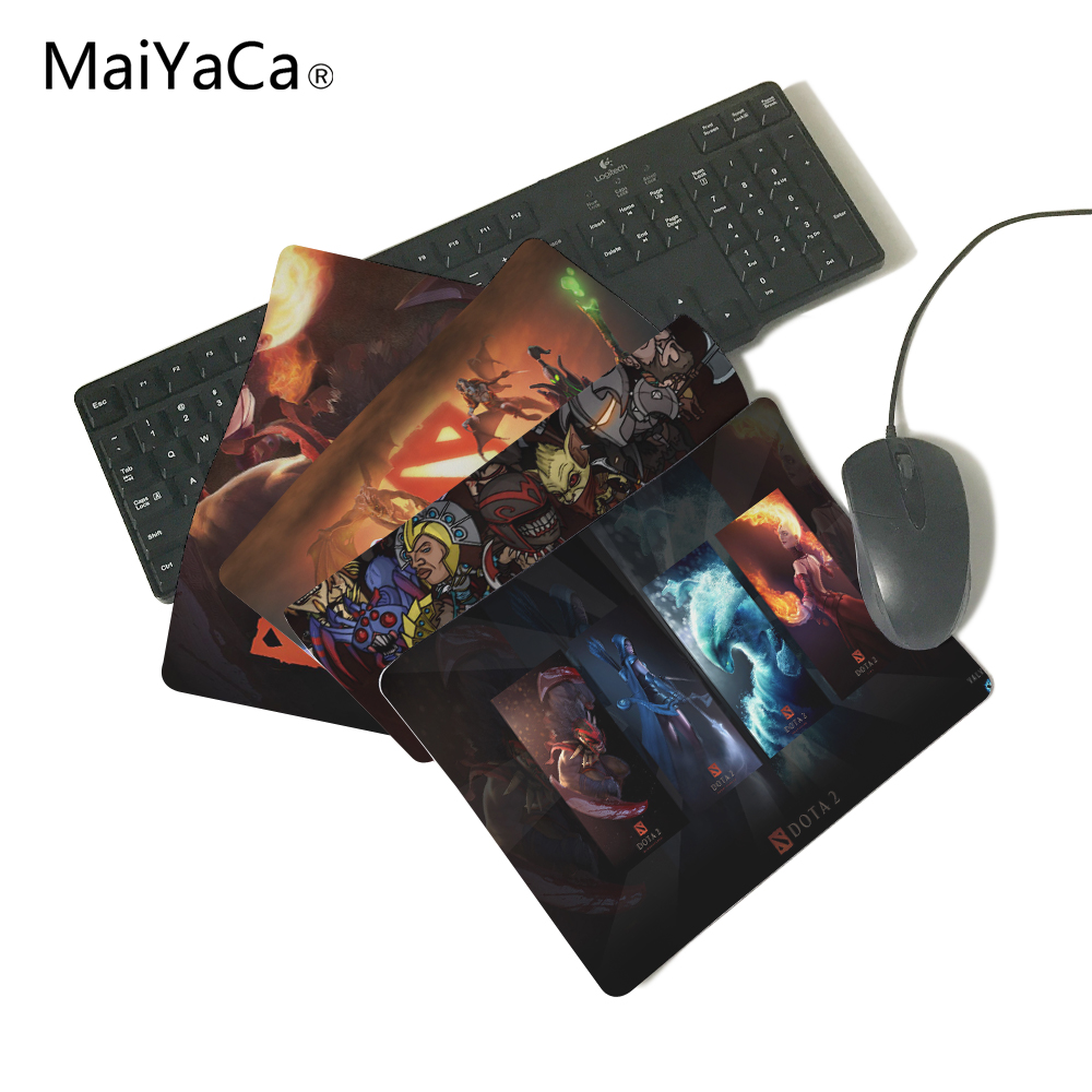 DoTA 2 Anti-Slip Rectangle Mouse Pad Customized Supported 220mmX180mmX2mm&250mmx290mmx2mm