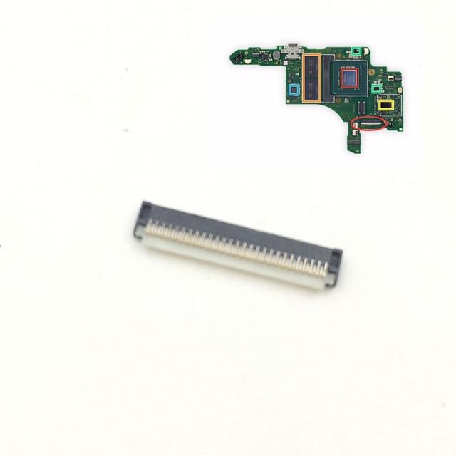 10PCS LCD di Ricambio Dello Schermo di Tocco di Presa di Connettore Spina Parte per Nintendo Interruttore NX