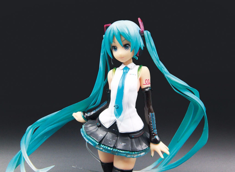 20CM Japanese anime figure Hatsune Miku singer ver action figure collectible model toys for boys new arrival 1pcs 18cm pvc japanese anime figure hatsune miku budokan ver action figure collectible model toys brinquedos