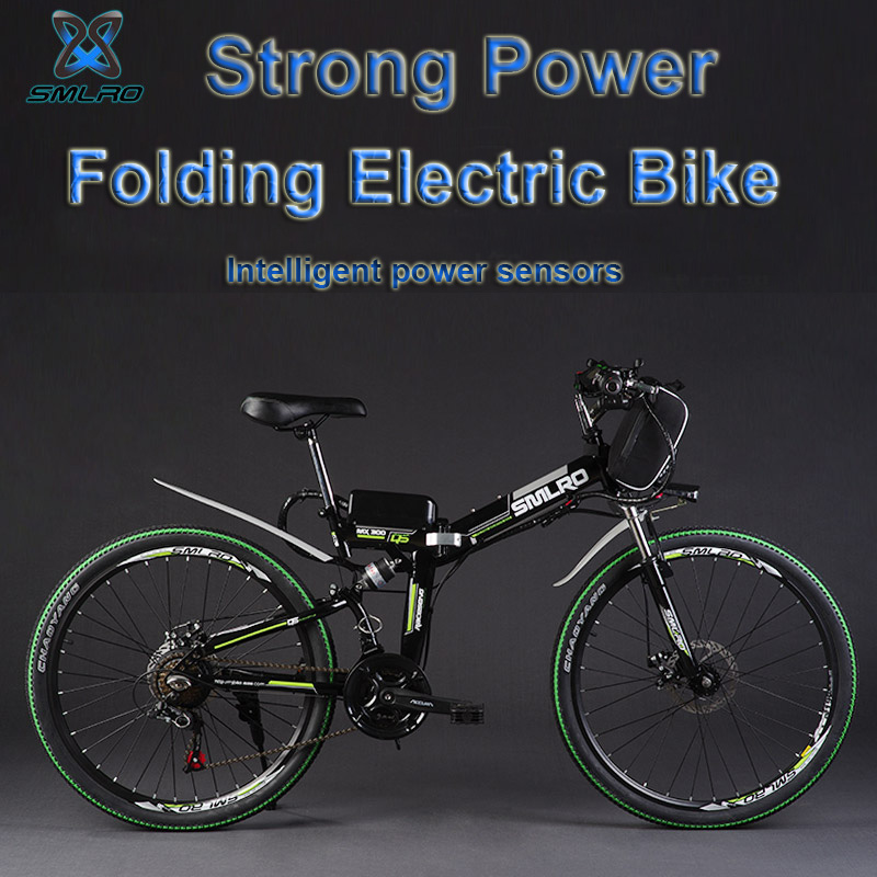 26 48 В 350 Вт/500 Вт 8/12.5AH литиевая батарея складной электровелосипед, горный велосипед, электрический велосипед, MTB E велосипед (тип сумки)