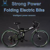 26 48V 350W/500W 8 / 12.5AH Lithium Battery Folding Electric Bicycle, Mountain Bike, Electric Bike, MTB E Bike (Bag Type)