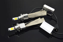 Свет голову 2 шт. H7 LED 30 Вт 6000 К 12 В/24 В 3600lm ксеноновые Белый фар лампа высокая низкая комплект Глобусы луковицы H7